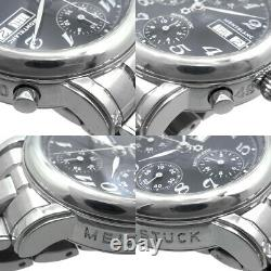 Montblanc Meisterstuck Star Chronograph 7016 Automatic Steel Men's Box & Paper