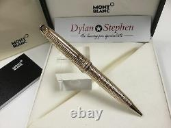 Montblanc Meisterstuck solitaire geometry champagne gold ballpoint pen NEW