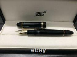 Montblanc Pre-owned Fountain Pen Meisterstuck #149 18k NibBB Gold Trim