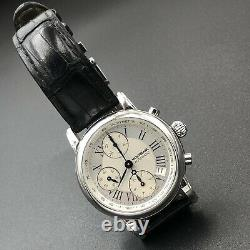 Montblanc Star Meisterstuck Date 7016 4810 501 Chronograph Automatic Swiss Watch
