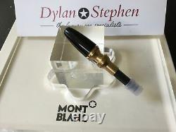 Montblanc meisterstuck 146 legrand gold line fountain pen piston mechanism