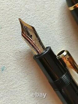 Montblanc meisterstuck 147 legrand Traveller gold line fountain pen