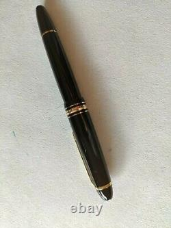 Montblanc meisterstuck 147 legrand Traveller gold line fountain pen