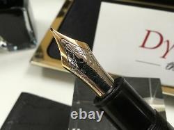 Montblanc meisterstuck 149 fountain pen 14K M = medium gold nib + box + ink
