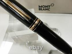 Montblanc meisterstuck 149 fountain pen 18K B= broad gold nib