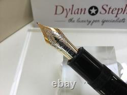 Montblanc meisterstuck 149 fountain pen 18K F= fine gold nib