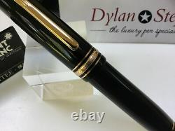 Montblanc meisterstuck 149 fountain pen 18K F= fine gold nib + box