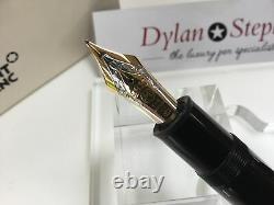 Montblanc meisterstuck 149 fountain pen 18K M = medium gold nib