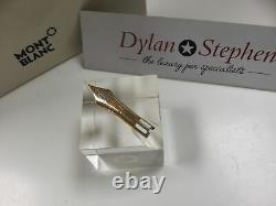 Montblanc meisterstuck 149 fountain pen 18K gold oblique medium nib