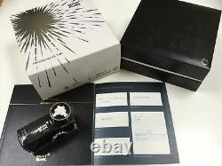 Montblanc meisterstuck 149 platinum fountain pen 18K medium gold nib NEW