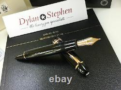 Montblanc meisterstuck 149 red gold fountain pen 18K medium gold nib