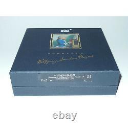 NOS Montblanc Meisterstuck 1145 Mozart Fountain Pen Solitaire Gold Vermeil 18K
