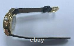 Original Mens Montblanc Meisterstuck 4810 Chronograph Gold Tone Ref 7001 38mm