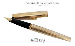 RARE Montblanc Meisterstuck N 1276 SOLID 585 GOLD Fountain Pen 1970 s
