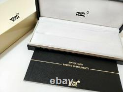 Refurbished Montblanc Meisterstuck Solitaire Gold & Black Fountain Pen 35982