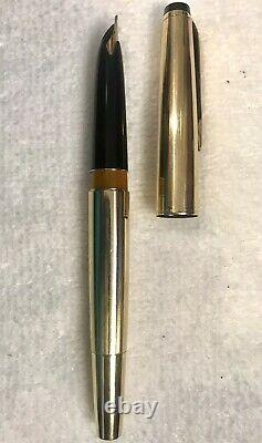 Scarce 1970s MONTBLANC Meisterstuck 82 Piston Gold-fill Fountain Pen