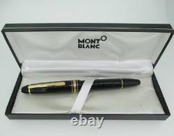 Vintage 14k Montblanc Meisterstuck #4810 Fountain Pen
