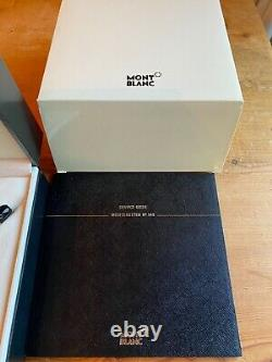 Vintage Mont Blanc Meisterstuck No 149 18ct Gold Nib 4810 Fountain Pen Boxed Set