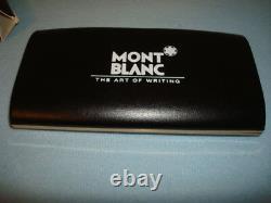 Vtg 1991 Mont Blanc Masterpiece 149 Meisterstuck 14 K Gold Large Fountain Pen M