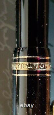 Vtg Montblanc Meisterstuck 146 Fountain Pen Le Grand 14k Gold M 4810 Nib