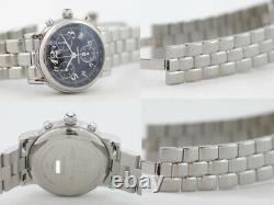 Wristwatch MONTBLANC MEISTERSTUCK 7038 USED Men's Analog Silver Quartz
